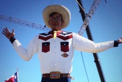 BigTex at the State Fair of Texas