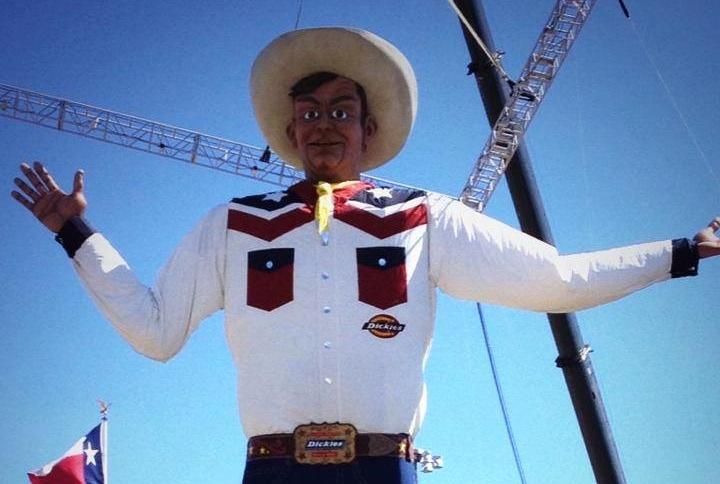 BigTex at the State Fair of Texas