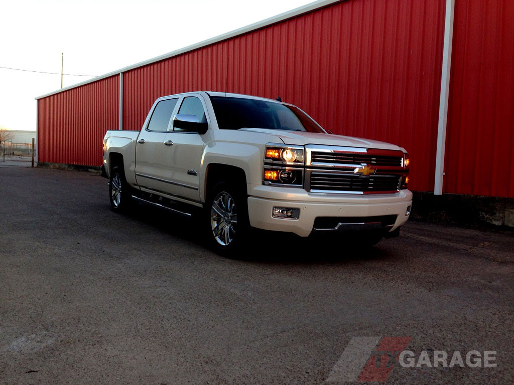 the 2014 Chevrolet Silverado 1500 High Country