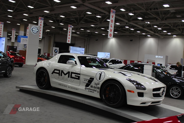 MercedesBenz SLS AMG Racer Dallas Auto Show TxGarage - Mercedes tx car show