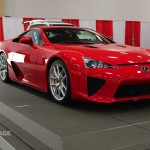 The $350,000 Lexus LFA Supercar - 2014 Dallas Auto Show -txGarage 0203