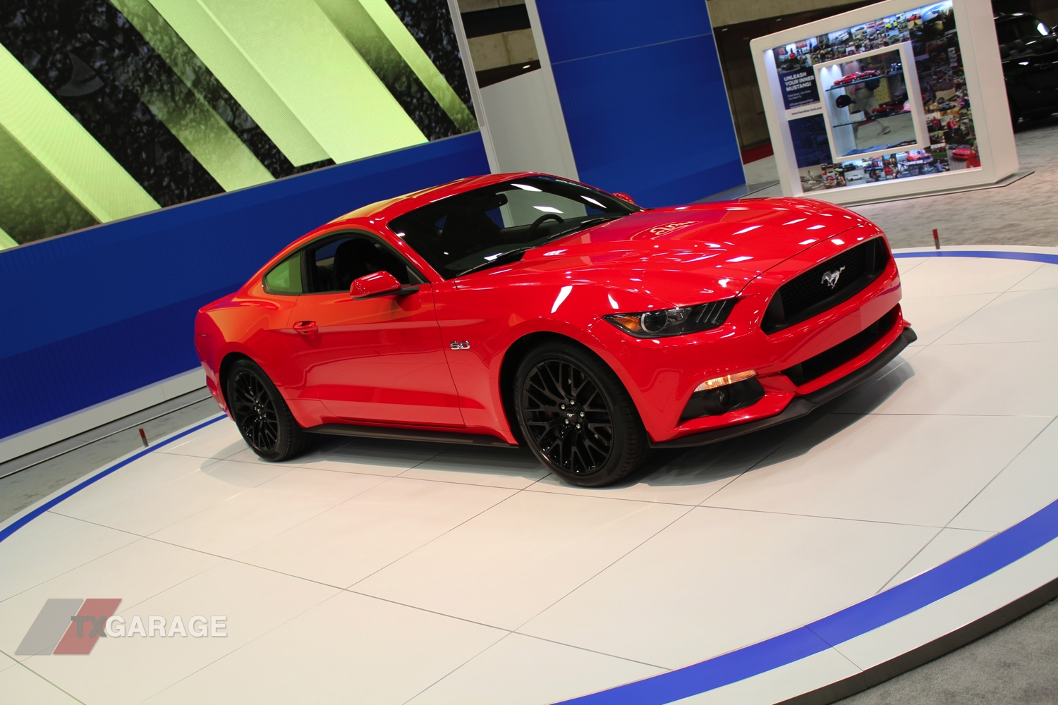 2015 Ford Mustang Gt 5 0 2014 Dallas Auto Show Txgarage