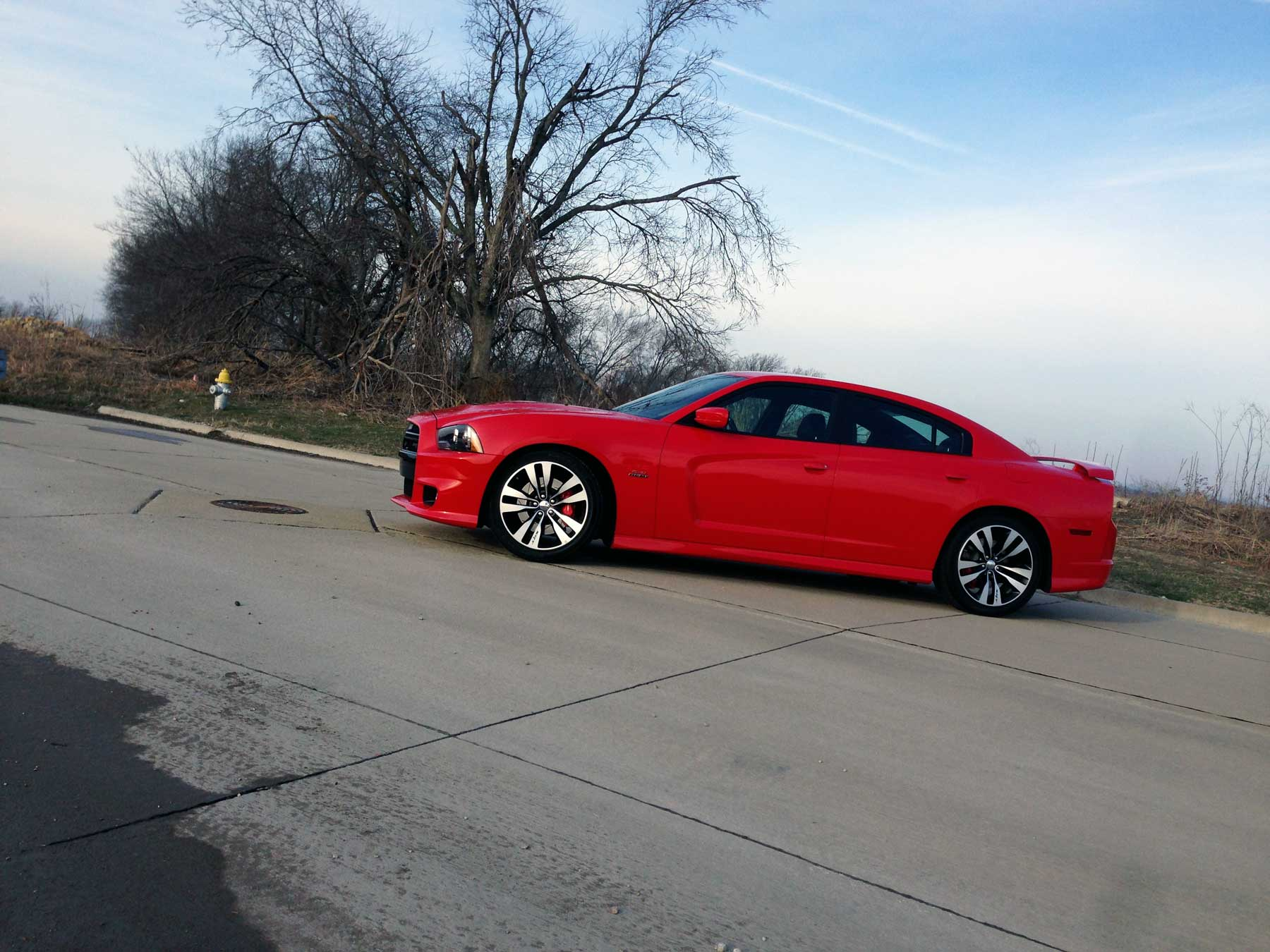 2014 srt charger by txgarage - Dodge Charger 2014 Red