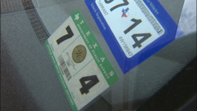 Texas no longer requires inspection sticker