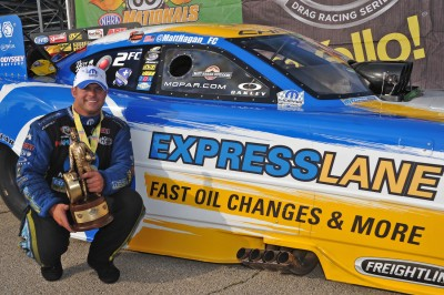 Mopar's Matt Hagan earns first Funny Car title of 2014 season at 17th annual Route 66 NHRA Nationals
