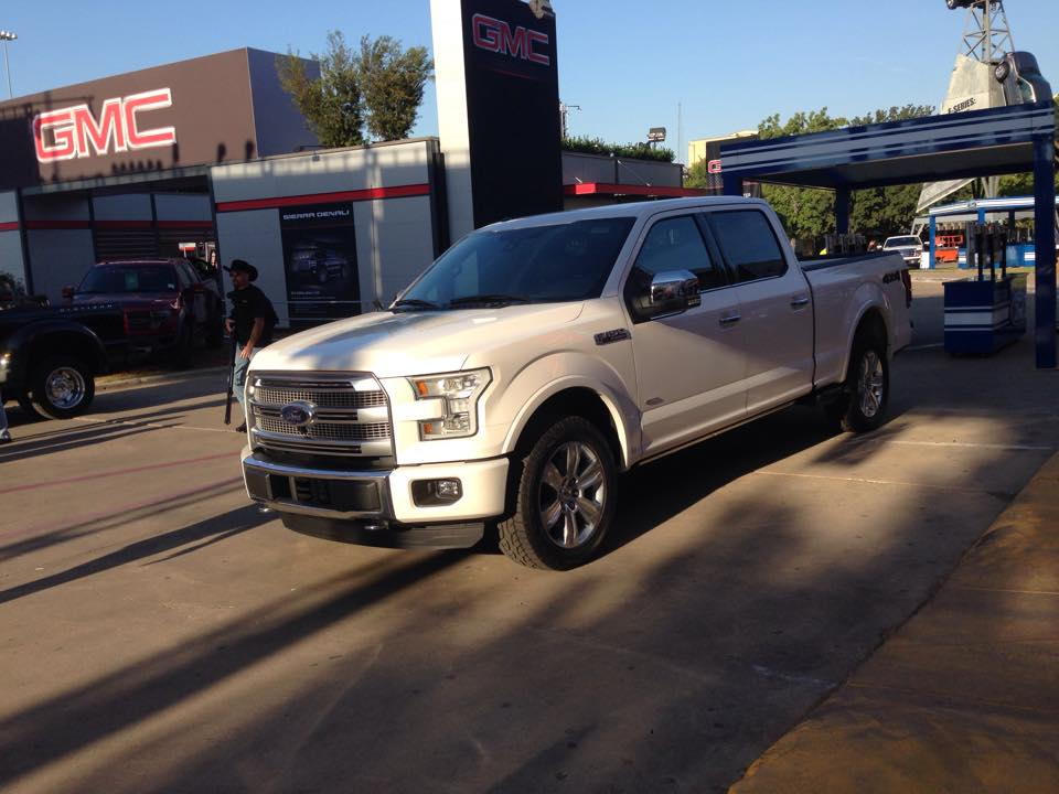 The 2015 Ford F-150 at the State Fair of Texas