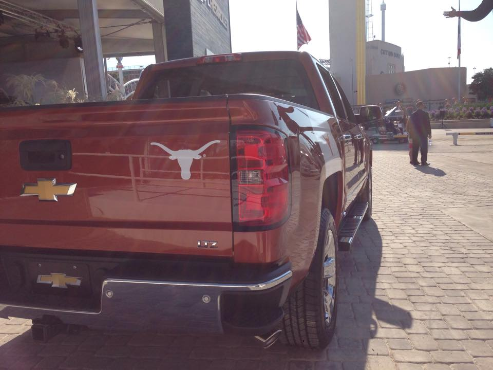 Chevrolet at the 2014 State Fair of Texas