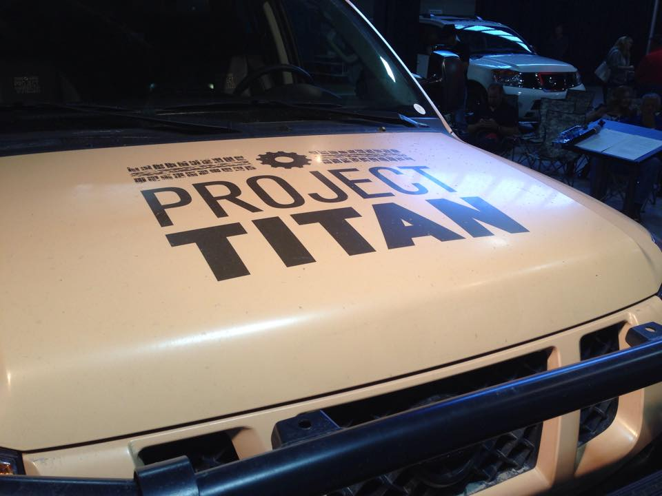 Project Titan at the 2014 State Fair of Texas