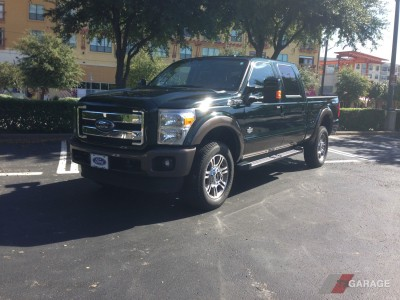 The 2015 Ford Super Duty F-350 King Ranch