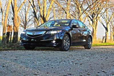 The 2015 Acura TLX Luxury Sedan