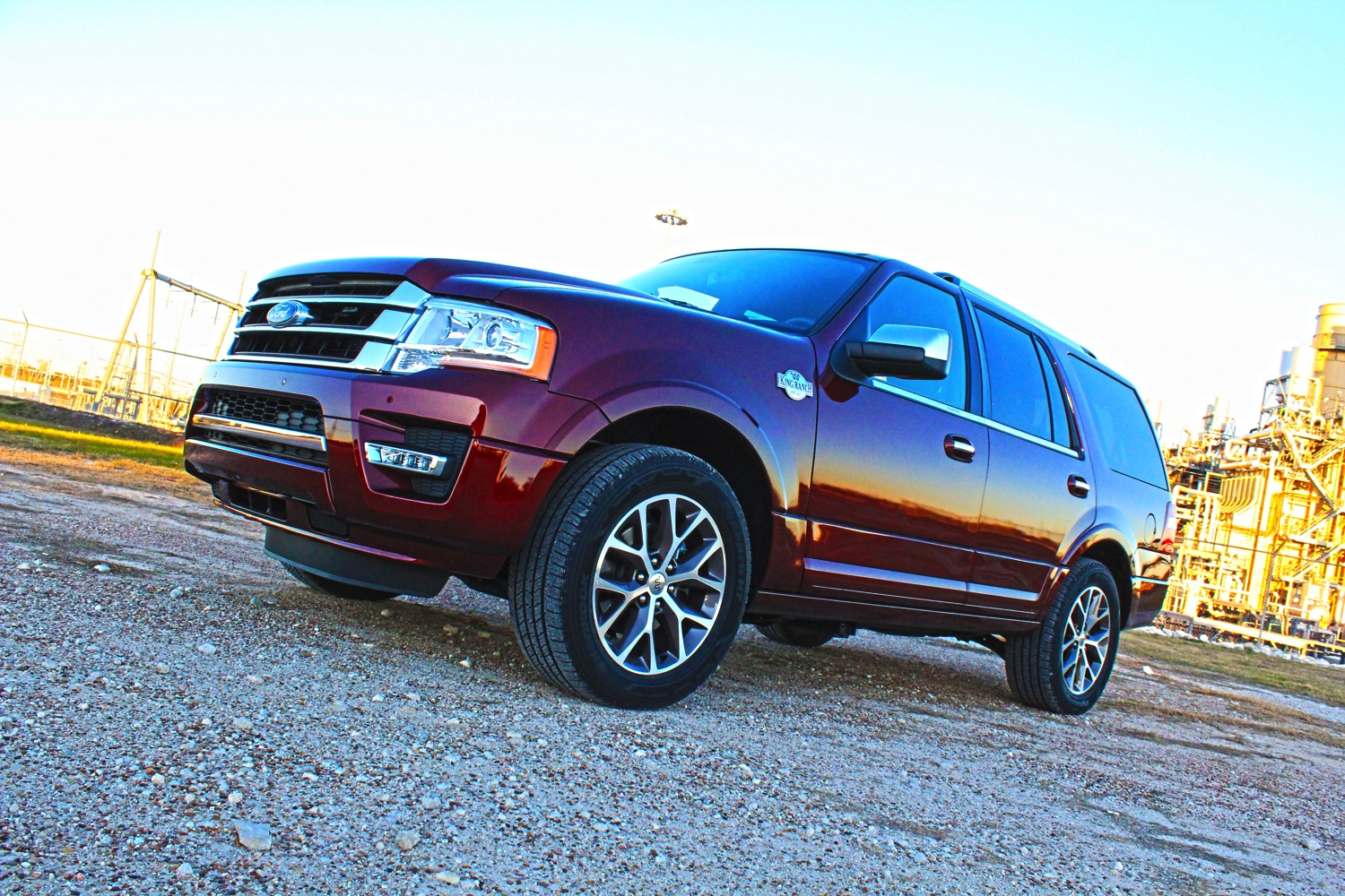 The 2015 Ford Expedition King Ranch