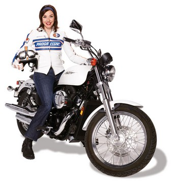Progressive Motorcycle Flo