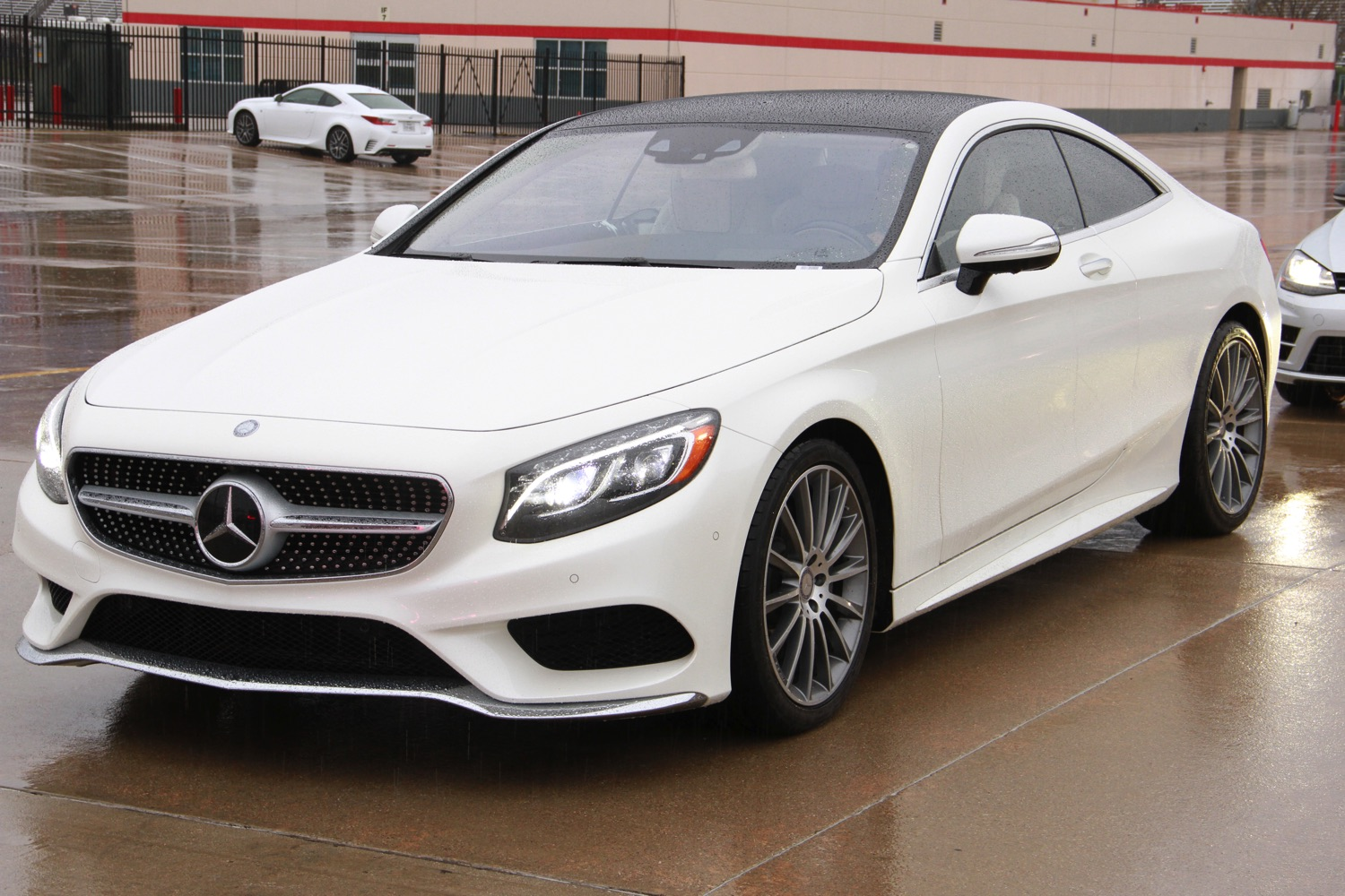 The 2015 Mercedes Benz S550 Coupe At The 2015 Texas Auto