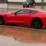 The 2015 Chevrolet Corvette Stingray at the 2015 Texas Auto Roundup