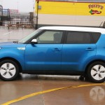 The 2015 Kia Soul EV at the Texas Auto Roundup