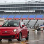 The 2015 Fiat 500 Abarth Cabrio at the Texas Auto Roundup