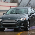 The 2015 Ford Fusion Titanium at the 2015 Texas Auto Roundup