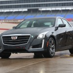 The 2015 Cadillac CTS V at the 2015 Texas Auto Roudup