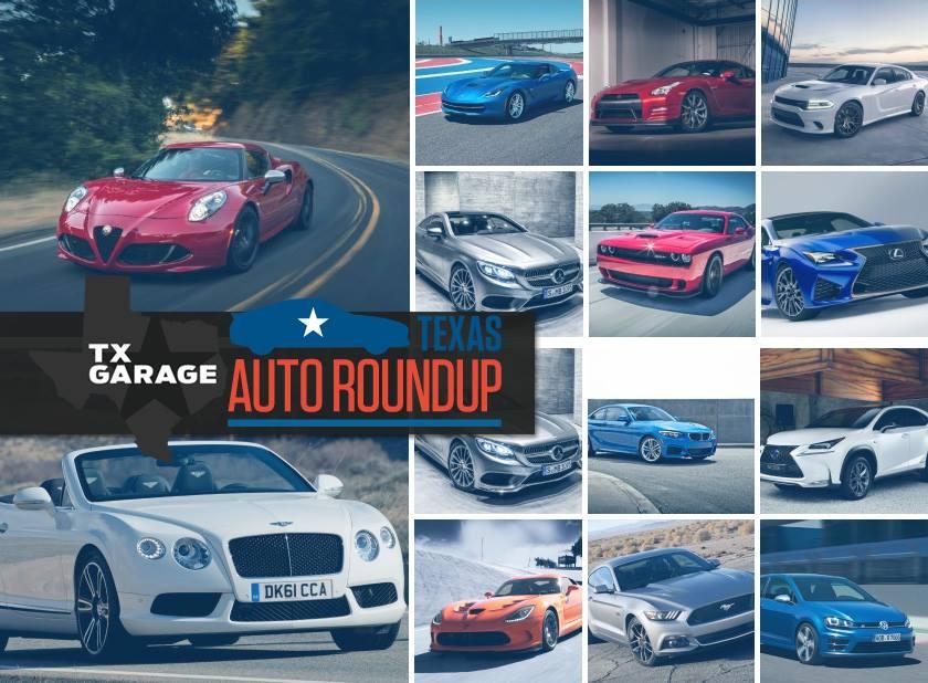 2015 Texas Auto Roundup with the TAWA and txGarage
