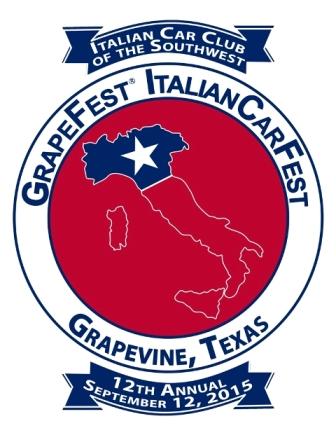 Italian CarFest Logo 2015