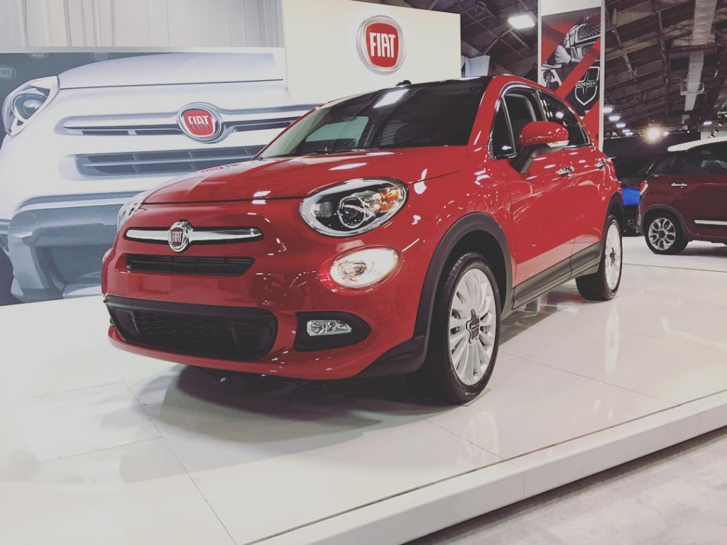Fiat's 500X compact SUV provided by Vern Bremmer