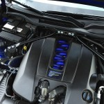 Under the hood is a 5.0-liter V8 engine pushing 467-horsepower and 380-lbs.-ft. of torque.