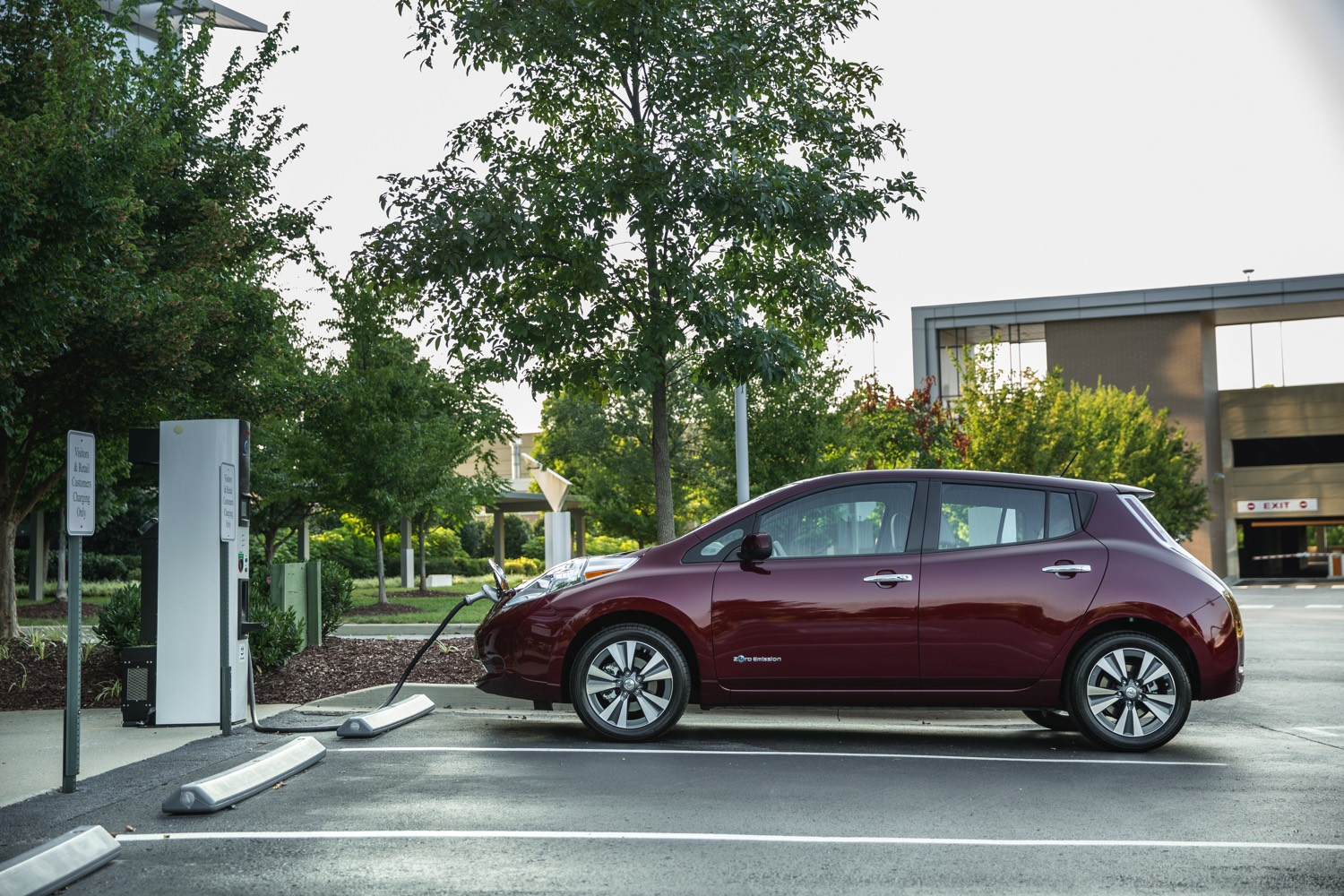 2016 Nissan Leaf - the best-selling electric car.