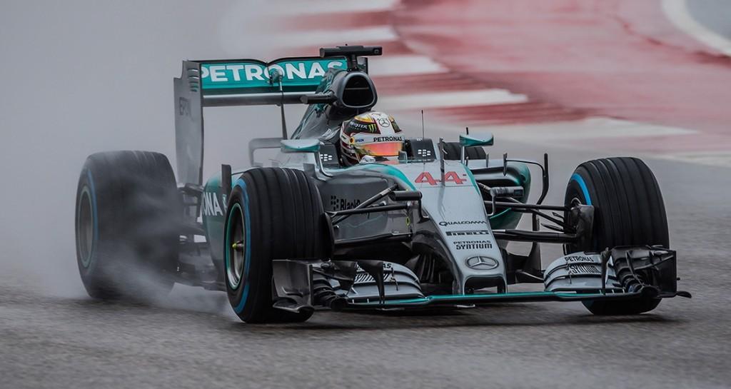 Hamilton taking F1 Title in Texas