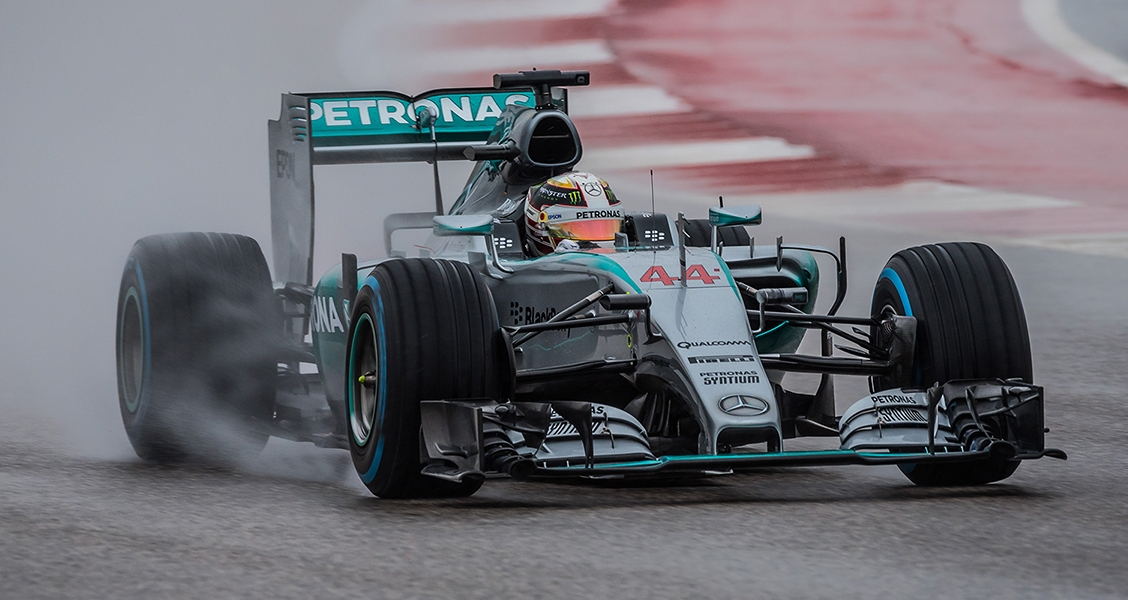 Hamilton taking F1 Title in Texas