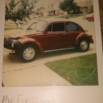 1973 VW Super Beetle: First Car.