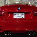 2016 BMW M4 Coupe Ferrari Red - Quad Exhaust