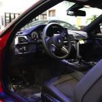 2016 BMW M4 Coupe Ferrari Red - interior