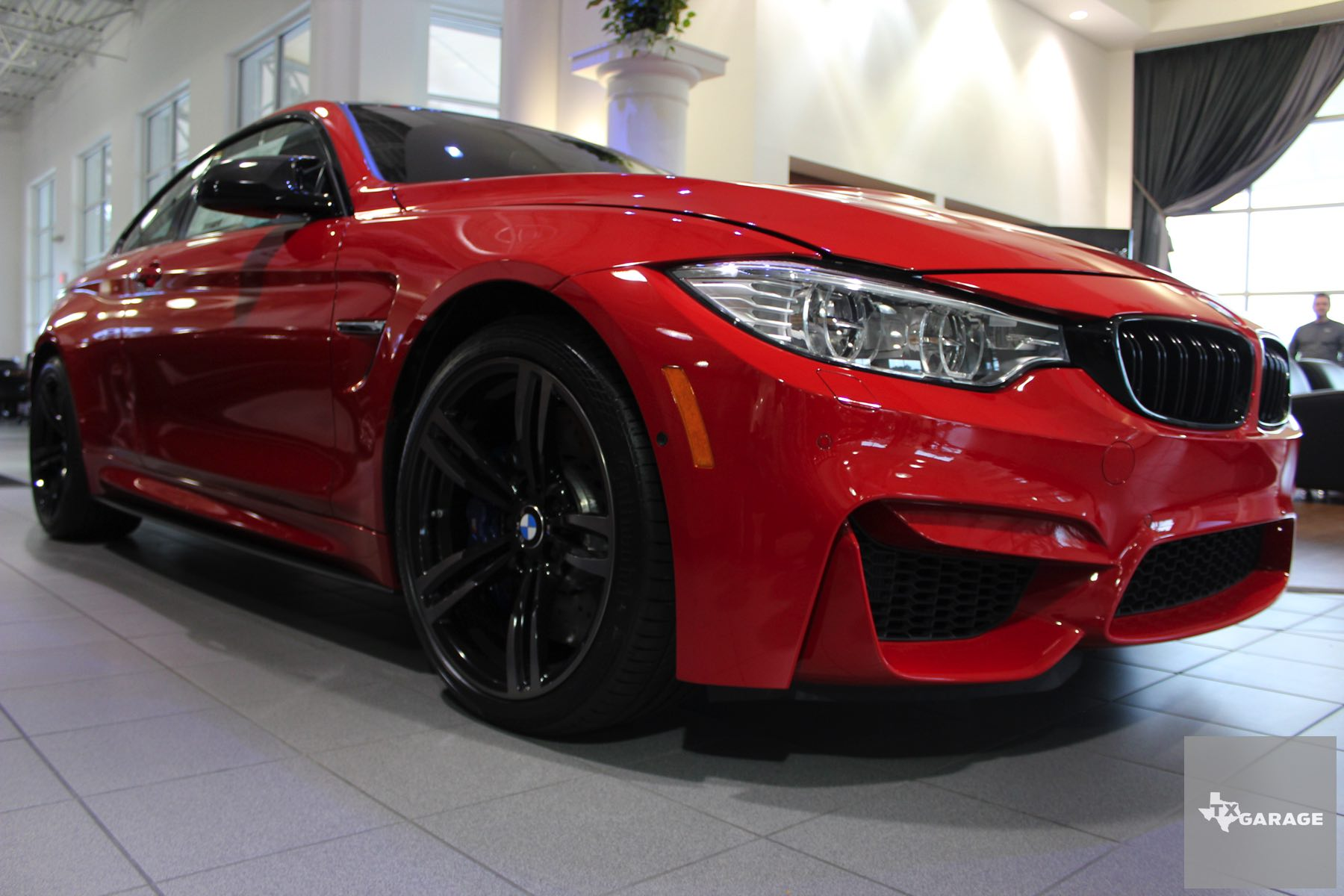 2016 BMW M4 Coupe Ferrari Red
