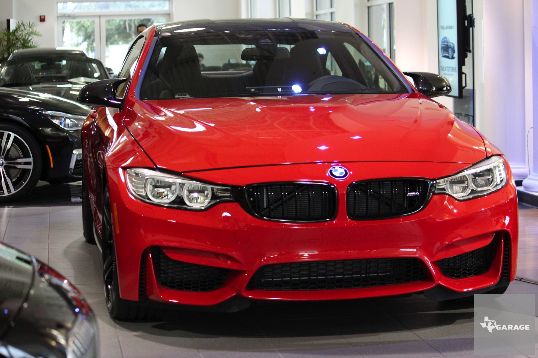 Bmw M4 2016 Red