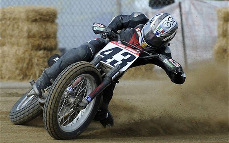 AMA Pro Flat Track Racer