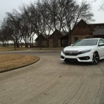 the 2016 Honda Civic Touring 1.5 turbo