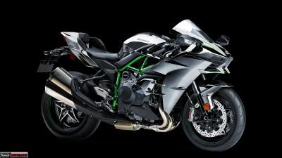 Kawasaki's supercharged H2