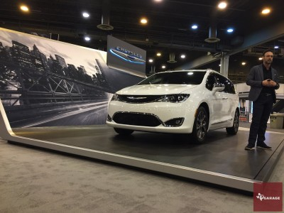 The all-new Chrysler Pacifica - At the Houston Auto Show
