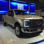 All-new Ford Super Duty Trucks at the Houston Auto Show