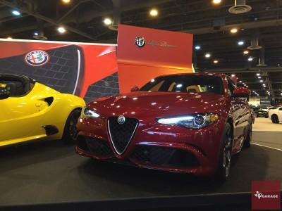 2017 Alfa Romeo Giulia Quadrifoglio - at the Houston Auto Show