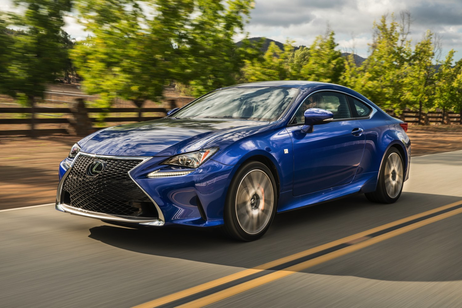 The 2016 Lexus RC 200t Sport Coupe