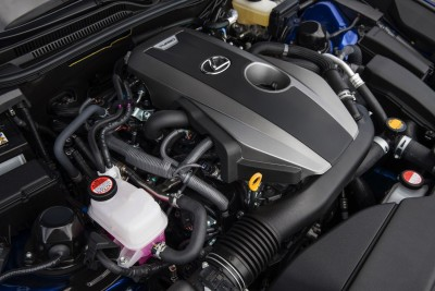 The Lexus RC 200t - 2.0 L 4-cylinder  235 hp