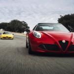 The Alfa Romeo 4c Spider