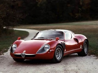 The Alfa Romeo Tipo 33 was a sports racing prototype raced by the Alfa Romeo factory-backed team between 1967 and 1977.