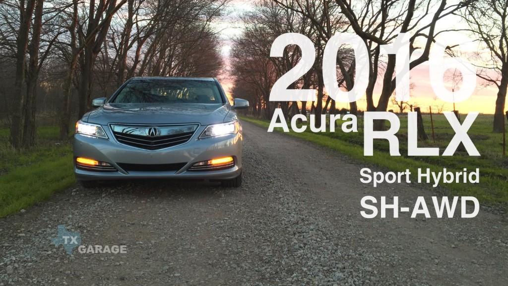 The 2016 Acura RLX Sport Hybrid SH-AWD