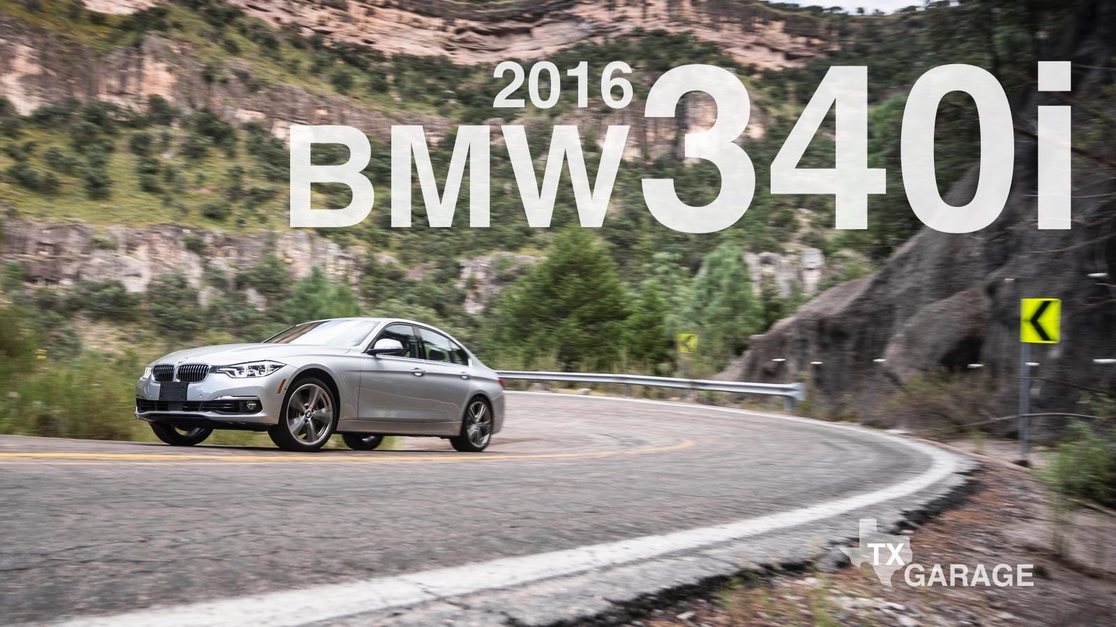 The 2016 BMW 340i - 4-Door Sedan