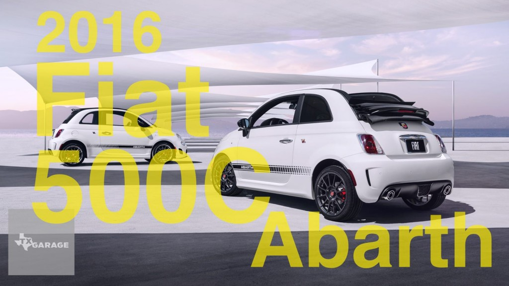 The 2016 Fiat 500C Abarth Cabrio
