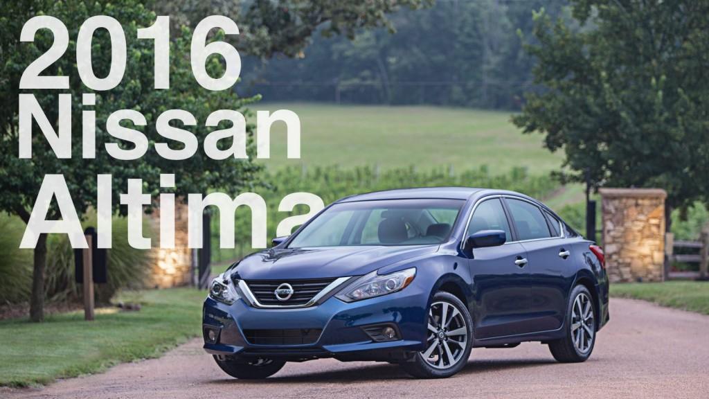 The 2016 Nissan Altima