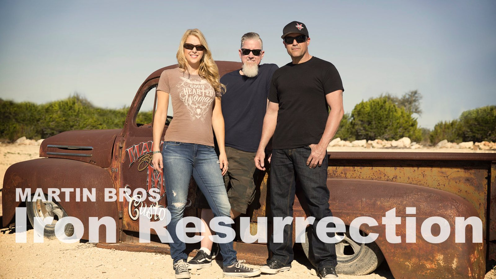Martin Bros: Iron Resurrection - new show on Velocity Channel