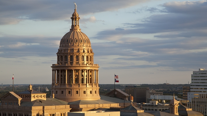 Austin, Texas Capital building
